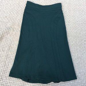 Diane Von Furstenberg Wool Pleated Skirt